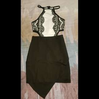 Eyelash Lace Dress