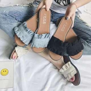 Ladies Korean Style Slipper Shoes