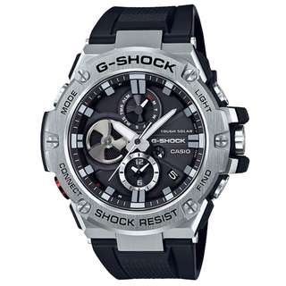 CASIO G-SHOCK GST G-STEEL series GST-B100 黑色 膠帶 GSHOCK GSTB100