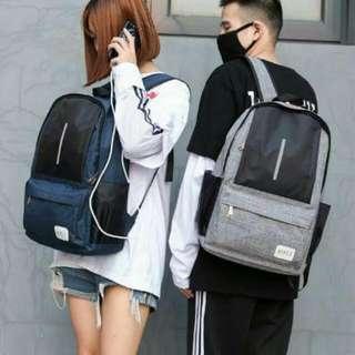 New Usb Backpack