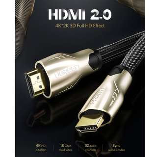 Ugreen HDMI 2.0 Cable Adapter 4K 3D 1080P