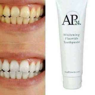 Whitening and effective toothpaste