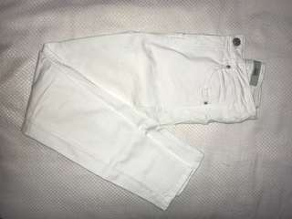 White jeans Top Shop