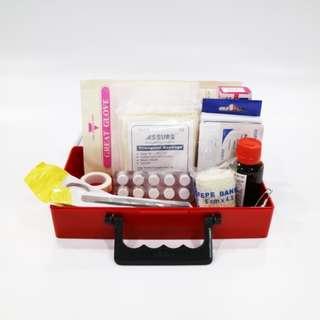 First Aid Box (FAB-CS), Complete, Small, Per Box