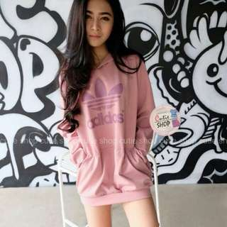 Adidas mini hoodie dress