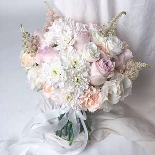 Bridal bouquet customisation