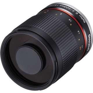 Samyang Reflex 300mm f/6.3 UMC CS Lens for Canon EF