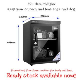 Promo - Dehumidifier / Dry Cabinet / Dry Box for camera (30L)