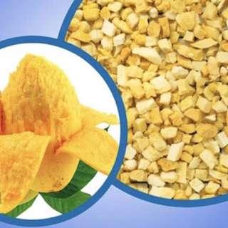 香港人氣零食-芒果干粒-粒狀方便手起進食(1kg)