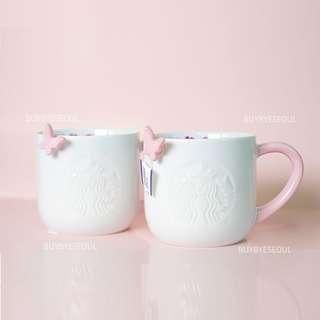 Starbucks korea spring flower siren mug 237ml
