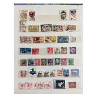 60s n 70s USA stamps
