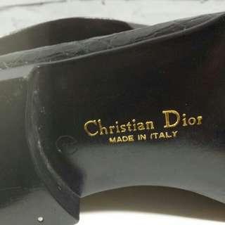 80年代Christian Dior 鱷魚皮鞋(Dior Homme前身)