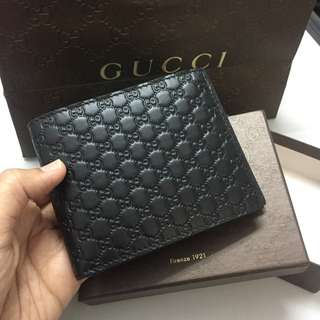 Authentic Gucci Mens Wallet Microguccisima (NEW)