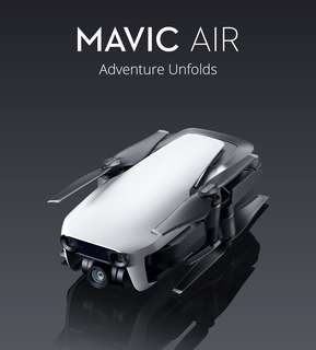 DJI MAVIC AIR / MAVIC AIR FLYMORE COMBO - READY STOCK! LOCAL 1 YEAR WARRANTY!