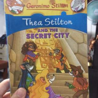 tha stilton and the secret city