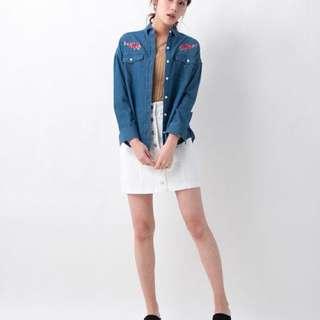 🚚 全新✨ 日本品牌 INGNI 高腰吊帶裙