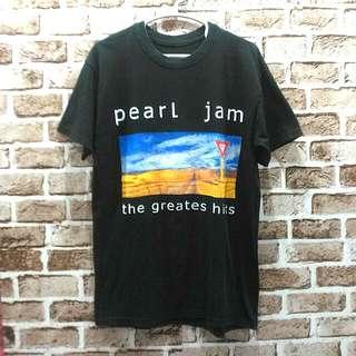 Pearl Jam The Greates Hits Size M Panjang 72 Lebar 47