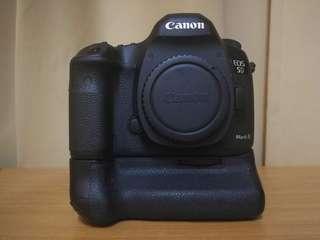 Canon 5d Mark iii body + ori battery grip