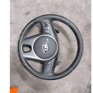 KIA FORTE STEERING WHEEL ONLY