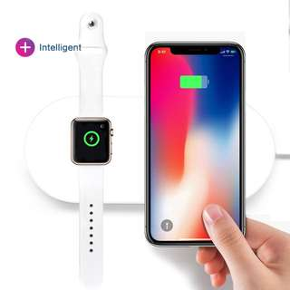 2in1 Mini Airpower Wireless Charger 二合一無線充電器