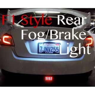 F1 STYLE BRAKE BLINKER LIGHTS VISIBILITY AWARE 3RD BRAKE LIGHT