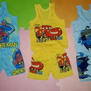 3 pcs Terno for Baby Boys