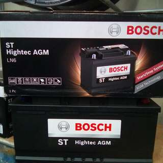 CAR BATTERY— AGM Bosch Battery LN6 105AH 950CCA        要买就买有品质保证的货品👌                                                                                Get quality goods👍.                                                                        Cash and carry
