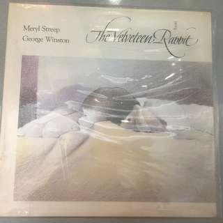 Meryl Streep / George Winston – The Velveteen Rabbit, Brand New Vinyl LP, Dancing Cat Records – DC-3007, 1985, USA