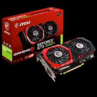 MSI gtx 1050ti Gaming X 4gb