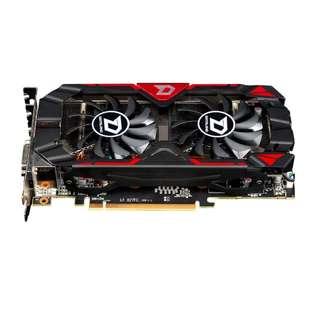 (二手) 95%NEW 迪蘭Dataland R9 370X 4G DDR5顯示卡