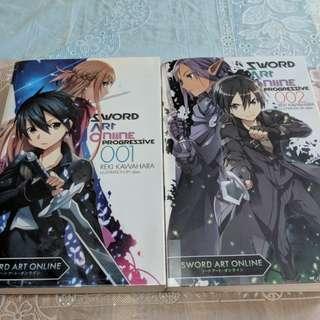 Sword Art Onlinr Progrrssive Vol 1&2 (SAO)