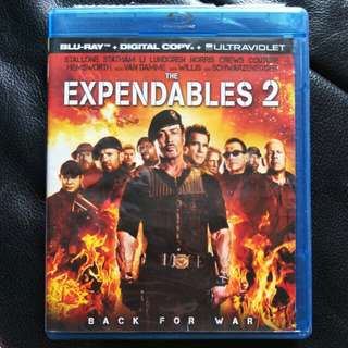 The expendables 2 Blu-ray Movies