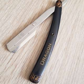 Hair barber straight razor
