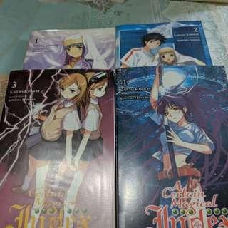 To Aru No Majutsu no Index Light Novel Vol 1-4