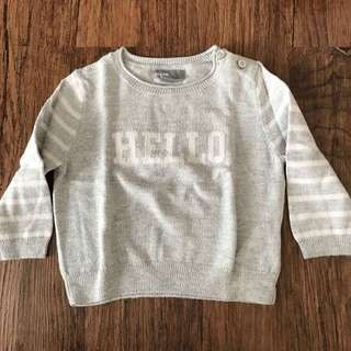 Preloved Hello Sweater #makintebel