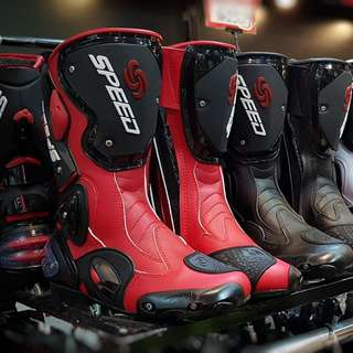 Reastock speed riding hi-cut boots! rm380 whatsapp 0126135416 size