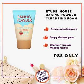 Etude House Baking Powder Foam Cleanser