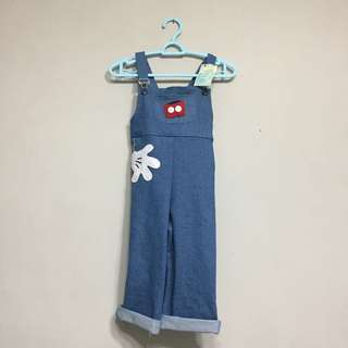 Mickey's jeans jumpsuit