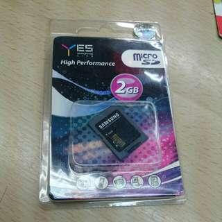 Memory card 2 gb