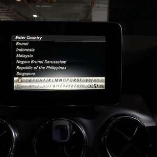 Mercedes-Benz CLA Class Garmin Map Pilot