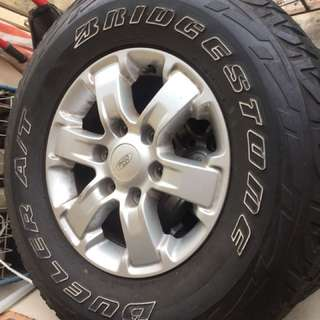 Ford Ranger XL Original Rim
