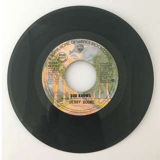 Debby Boone - God Knows / Baby, I'm Yours - Vintage Vinyl Record