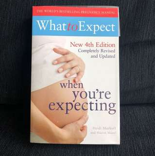 Book - What to expect when you're expecting