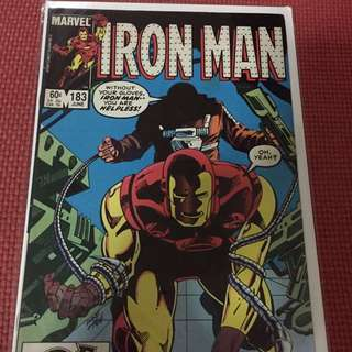 Marvel Iron Man #183