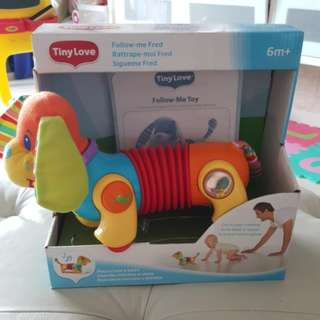 Baby Toy, Help Baby Crawl Toy, Tiny Love Follow Me Fred Toy