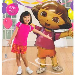 BNIB Dora the Explorer Airwalker Foil Balloon