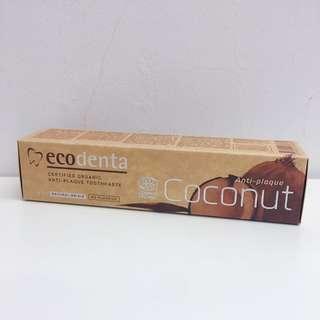 立陶宛 Ecodenta椰子油 – 有機天然抗菌牙膏(100ML)