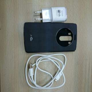 LG g3 cover and charger