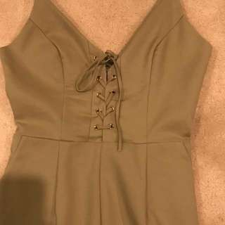 Noughts & crosses Playsuit
