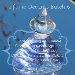 Perfume Decants Batch 6